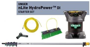 UNGER nLite HydroPower DI Starter Set