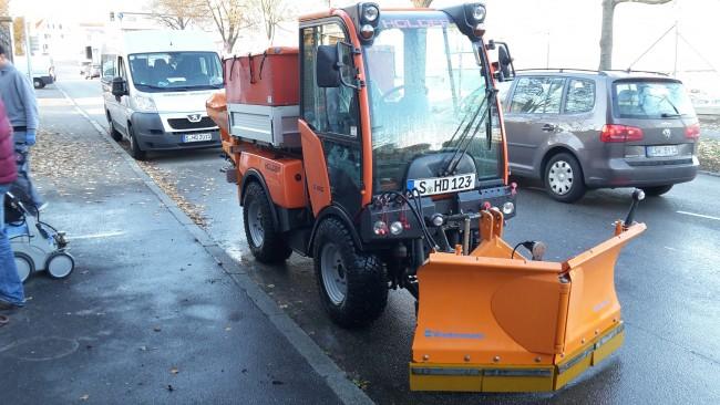 Gemeinsame Holder C250 Winterdienstfahrzeug - gebraucht &II_03