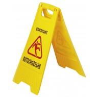 """Warnschild """"Vorsicht Rutschgefahr"""""""
